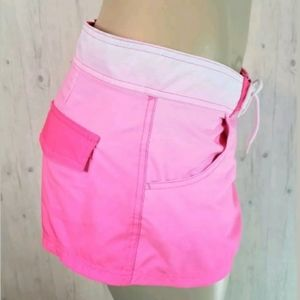Maui & Sons Pink Ombre Board Short Large Women's